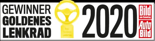 Bild Logo Gewinner Goldenes Lenkrad von AUTOBILD und BILD am Sonntag