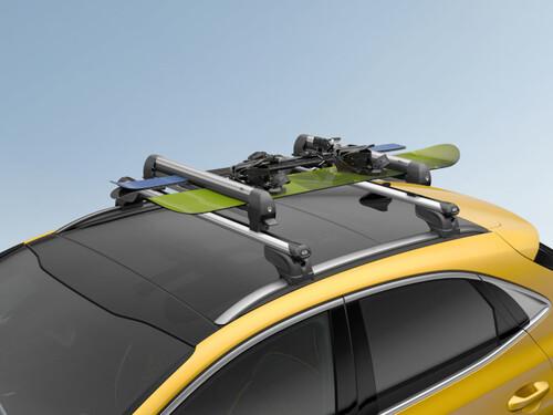 Bild Kia Dachansicht mit Snowboarddachträger