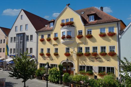 Hausansicht Hotel Adlerbräu
