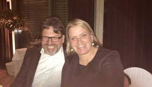 Josef Dehren und Claudia Müller-Dehren im Hotel Weingut Dehren