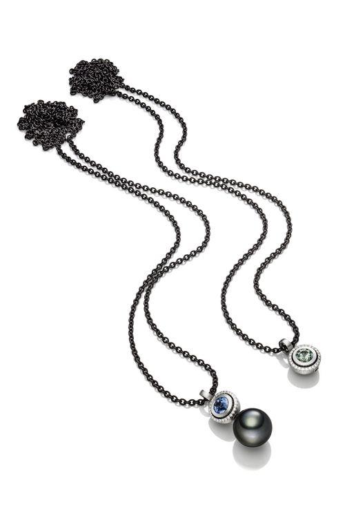 Variable Colliers mit Einsteckperlen