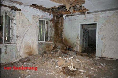 Umbau Sanierung vorher