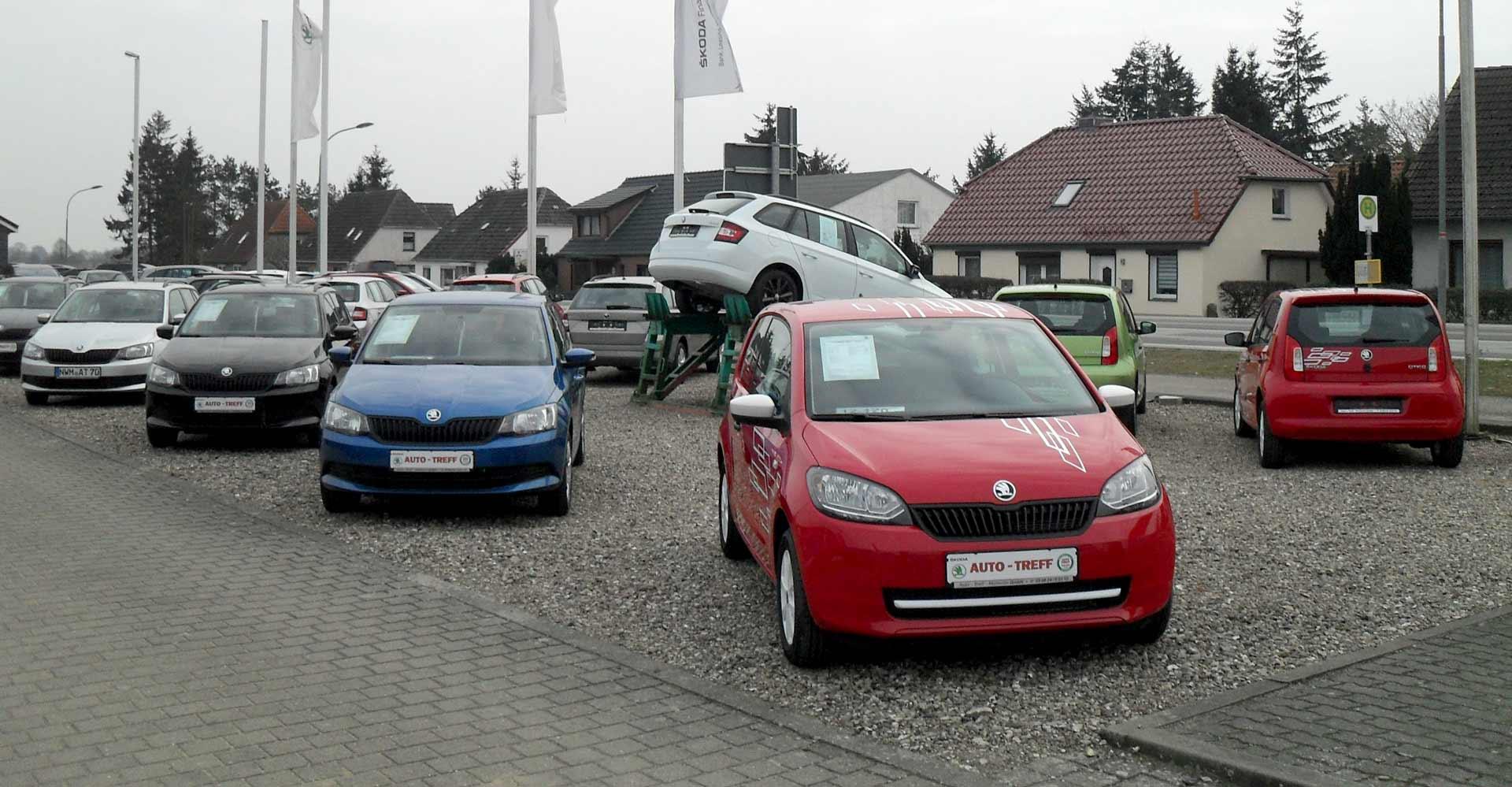 Škoda Neuwagen