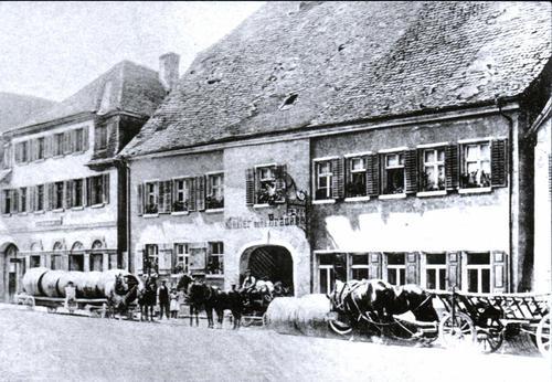 Hotel Adlerbräu vor 1912