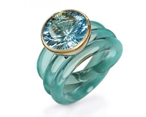 Ring Athena_Gold 750_14mm