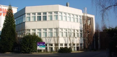 Laborgebäude einer Lackfabrik in Düren